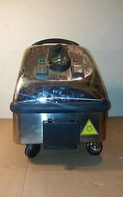 Tecnovap Stainless Steel Commercial Steam Cleaner MADE ITALY works AS IS