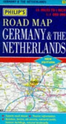 Philip's Road Map of Germany and the Netherlands Sheet map, folded Book The