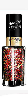 Loreal Color Riche Nail Polish Varnish Top Coat Glitter Flamenco 952