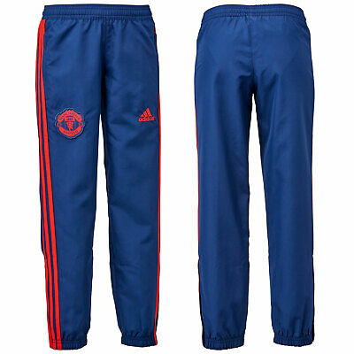 adidas MUFC Boy's Presentation Shell Pants Track Football Casual Sport Training