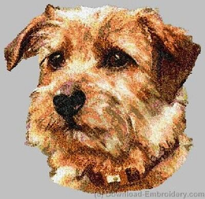 Embroidered Ladies Short-Sleeved T-Shirt - Norfolk Terrier DLE2492 Sizes S - XXL