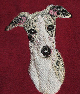 Embroidered Ladies Short-Sleeved T-Shirt - Whippet BT3413