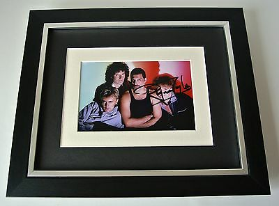 Roger Taylor SIGNED 10X8 FRAMED Photo Mount Autograph Display Queen Music & COA