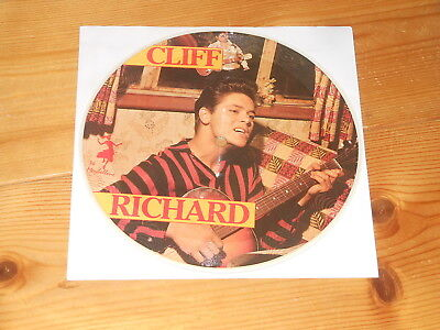 """Cliff Richard - 7"""" PICTURE DISC Single - Dynamite - Living Doll"""