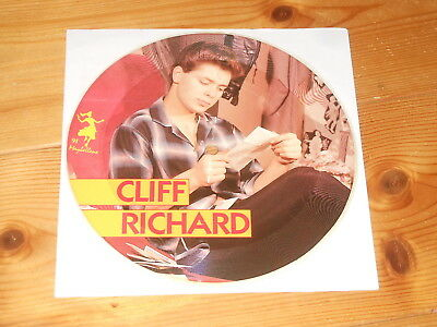 """Cliff Richard - 7"""" PICTURE DISC Single - Move It - Sexy Pin Up - Pinup"""