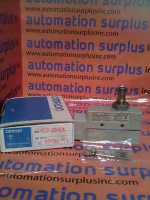 Omron Ze-Q22-2S Enclosed Limit Switch New!!