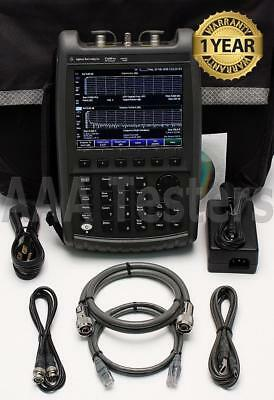 Agilent N9912A FieldFox RF Cable Antenna Combination Analyzer w/ Opt 104 4 Ghz