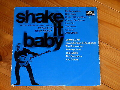 Shake It Baby - LP - DE 1965 - The Road Hogs - The Hep Stars - The Deejays