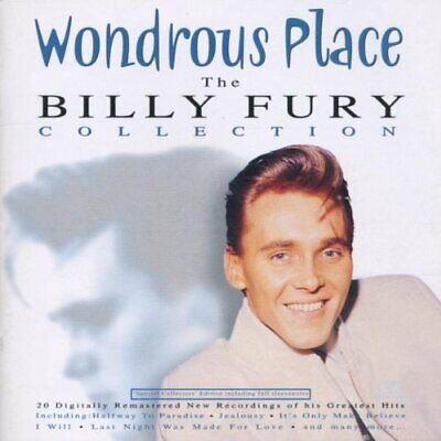Fury, Billy - Wondrous Place: The Billy Fury Collection - Fury, Billy CD HZVG