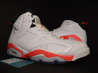 meet 9ccae df81f 2014 NIKE AIR Jordan VI 6 Retro WHITE INFRARED PINK BLACK RED BRED  384664-123 10