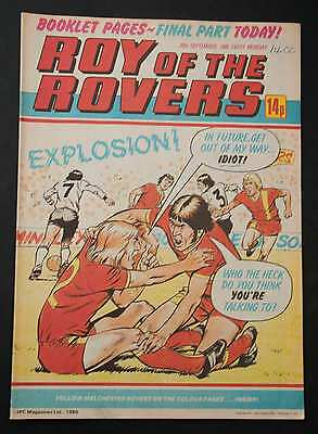 ROY OF THE ROVERS - 20th September 1980 - Vintage / Retro Football Comic