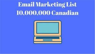 Canada Email Marketing List 10,000,000 Canadian Email Address