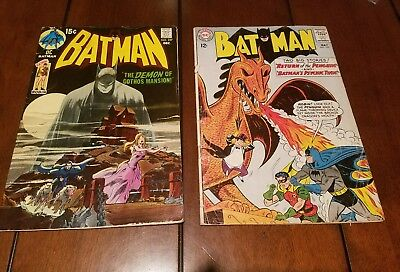 Batman 155 & Batman 227. Two Batman keys.