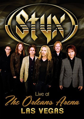 Styx-Live At The Orleans Arena Las Vegas  Dvd New