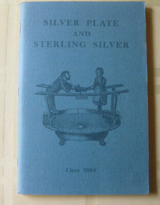 1972 Reprint Illustrated Catalog 1888 Sterling Silver & Plate Crook Sc Id Values