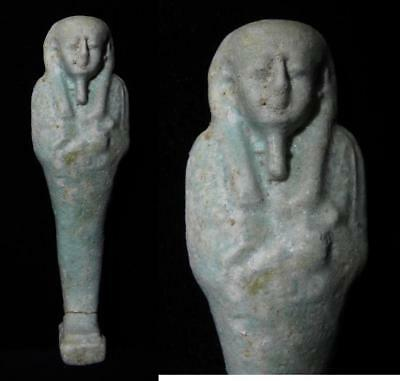 ZURQIEH - as3110- ANCIENT EGYPT . BEAUTIFUL ANCIENT USHABTI , 600 - 300 B.C
