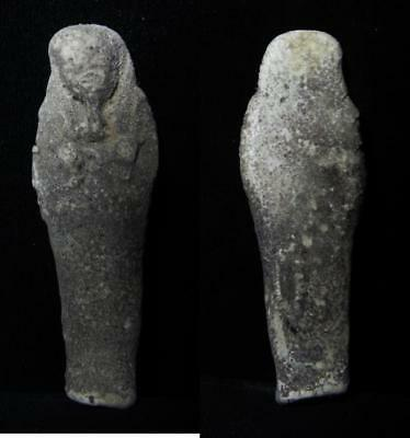 ZURQIEH - as3113- ANCIENT EGYPT . BEAUTIFUL ANCIENT USHABTI , 600 - 300 B.C