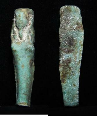 ZURQIEH - as3119- ANCIENT EGYPT . BEAUTIFUL ANCIENT USHABTI , 600 - 300 B.C