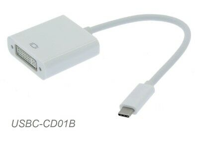 USB-3.1 Type-C Male to DVI Female Video Adapter, USBC-CD01B