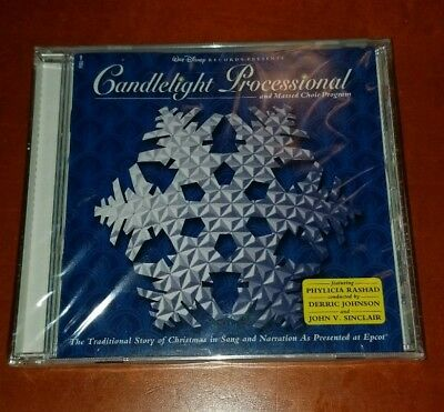Disney Epcot Candlelight Processional Christmas Music CD New & Sealed