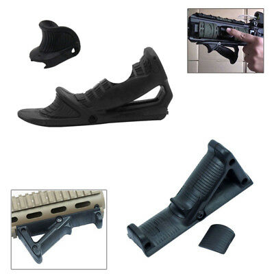 Ergonomic Forward Angled Foregrip Triangle Handle Grip for 20mm Picatinny Rail