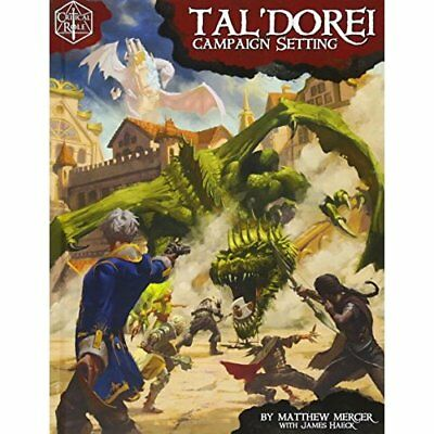 Critical Role: Tal'Dorei Campaign Setting - Hardcover NEW Mercer, Matthew 10/05/