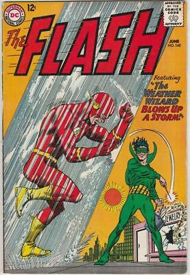 Flash, The  # 145  strict  FN/VF Cover Weather Wizard cover story!