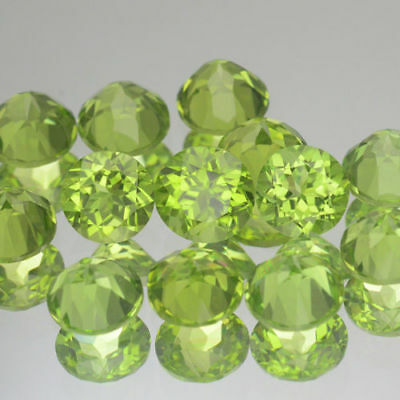 SPLENDIDE PERIDOT NATUREL  non traité   8 mm
