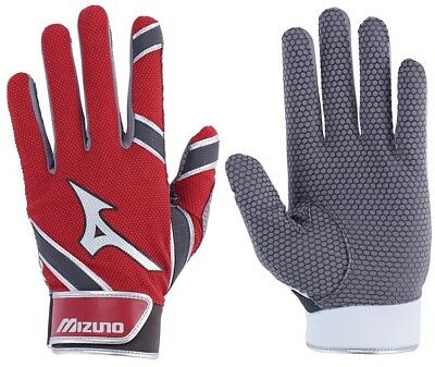1 Pair 2018 Mizuno 330384 MVP Red Adult X-Large Batting Gloves New In Wrapper!