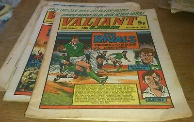 8 Valiant Comics 1975