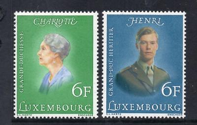 Luxembourg Mnh 1976 Sg962-963 Royal Birthdays