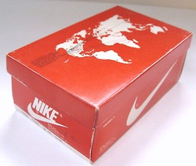 Vintage NIKE SHOE BOX ONLY 1980's TYRO W/R Child Size 2 - BOX ONLY - NO SHOES!