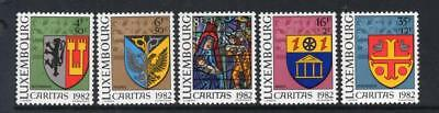 Luxembourg Mnh 1982 Sg1097-1101 National Welfare Fund