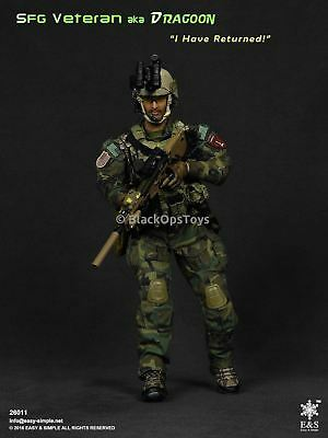 """Easy & Simple Army SFG Special Forces Group Veteran aka """"Dragoon"""" Mint in Box"""