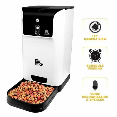 BV Pet Automatic Smart Feeder with Camera for Cats & Dogs with iPhone
