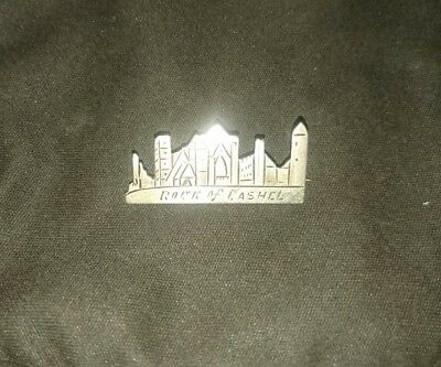 Cashel Rock Castle Silver Brooch Tipperary Irish Hallmark Joseph Cook & Sons