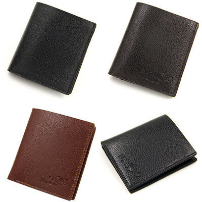 Men's Muti-Type Leather Wallet Pocket Coin Card Money Holder Clutch Bifold Purse