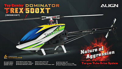 Align Trex 500 X Dominator (Torque Tube Version) 500 Sized Electric Helicopter