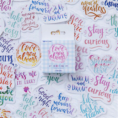 45PCS Lot Colorful Mood Japanese Stationery Stickers for DIY Scrapbooking Diary
