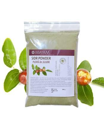 500g JUJUBE POWDER SIDR SEDR ZIZYPHUS JUJUBA TREE LEAVES NATURAL BEST PRICE DEAL