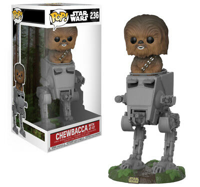 Pop! Deluxe: Star Wars - Chewbacca in AT-ST #236