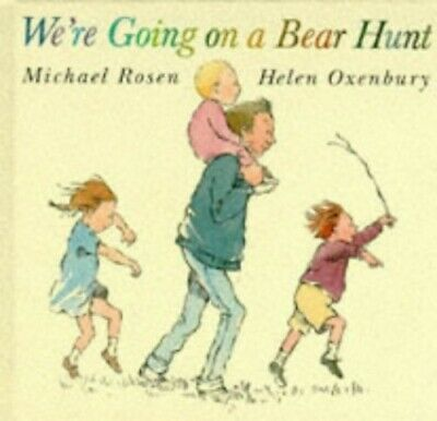 We're Going on a Bear Hunt by Rosen, Michael Hardback Book The Cheap Fast Free