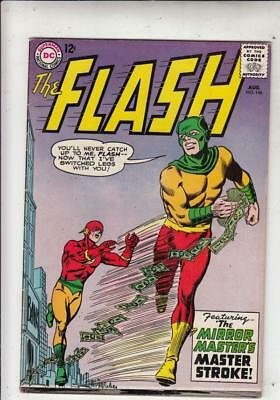 Flash, The  # 146  strict  VF+ Cover Mirror Master cover story!