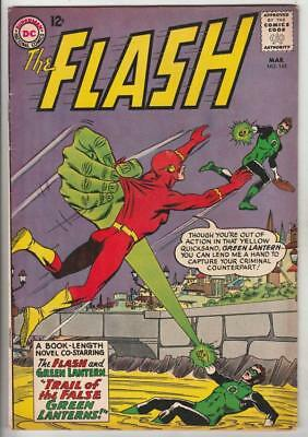 Flash, The,#143,Strict,FN/VF,Cover,Green Lantern crossover cover story