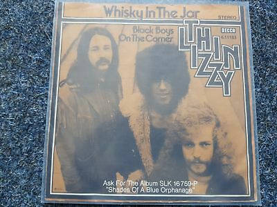 Thin Lizzy - Whisky in the jar 7'' Single Germany