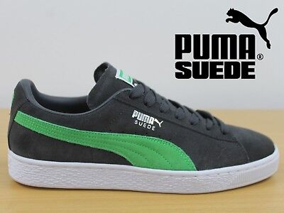 PUMA Suede Classic Men's Trainers Asphalt Andean Toucan Sneakers 36324204