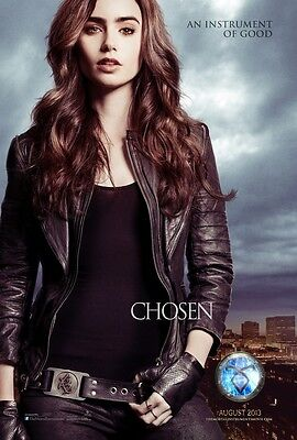 The Mortal Instruments movie poster - City Of Bones poster, Lily Collins poster