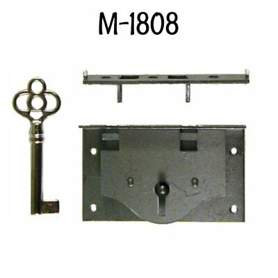 Half Mortise Chest Lid Lock with Key