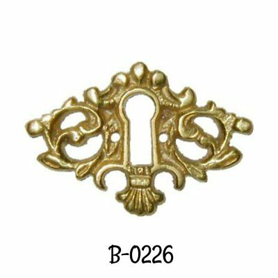 Victorian Style Cast Brass Keyhole Cover