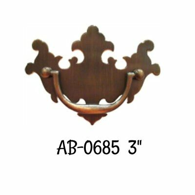 """Chippendale Style Drawer Pull with 3"""" Centers"""